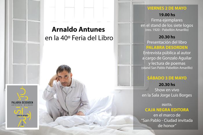 Antunes en la Feria del Libro de Buenos Aires 2014